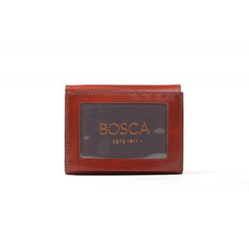 Bosca Old Leather RFID Double ID Trifold