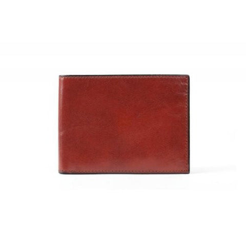 Bosca Old Leather Bifold Wallet with Card / I.D. Flap