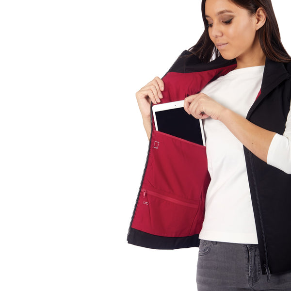 TRANSIT WOMEN'S RFID TRAVEL VEST