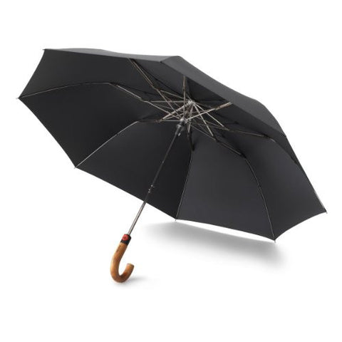 Knirps Traditional Crook Handle Travel Umbrella