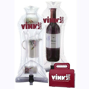 Vinnibag Inflatable Travel Wine Bag