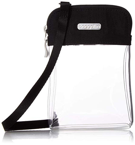 Baggallini Clear Stadium Bryant Crossbody Bag