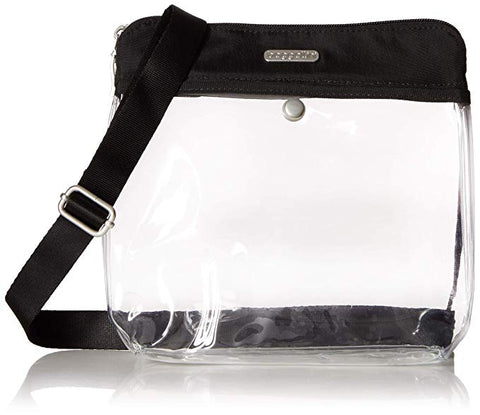 Baggallini Clear Stadium Crossbody Pocket