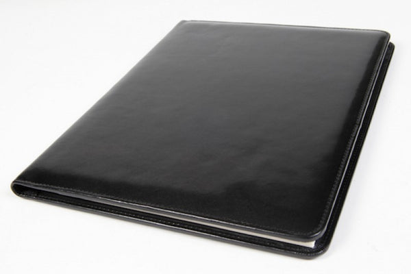 Bosca Old Leather 8 1/2 X 11 Writing Pad Cover