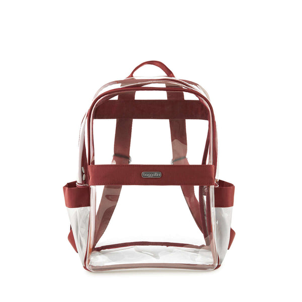 Baggallini Clear Stadium and Event Compliant Medium Backpack