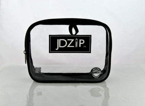 LollyZip JDZIP Quart Size Men's TSA Compliant Clear Bag