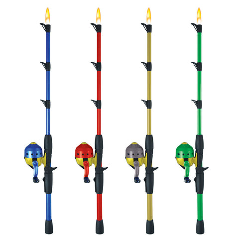 Closed Face Fishing Pole Lighter Bundle
