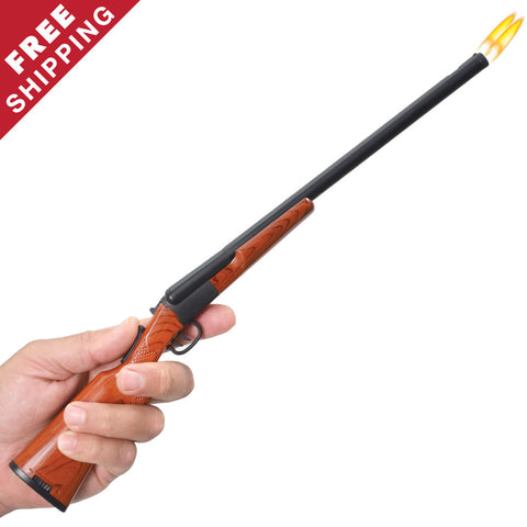 Double Barrel Shotgun Lighter - John Gibson Enterprises, Inc. - 1