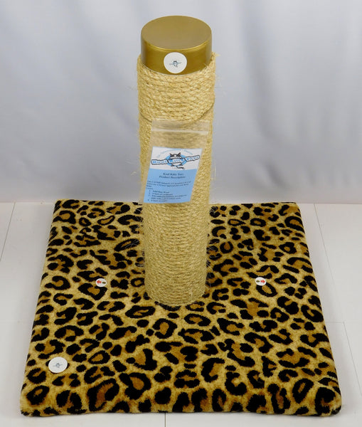 Extra Large Designer Cat Scratcher (Real Carpet)