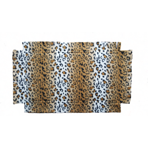 "Grandma ""T"" Catnip Infused Padded Fleece Blanket (Cheetah Print)"