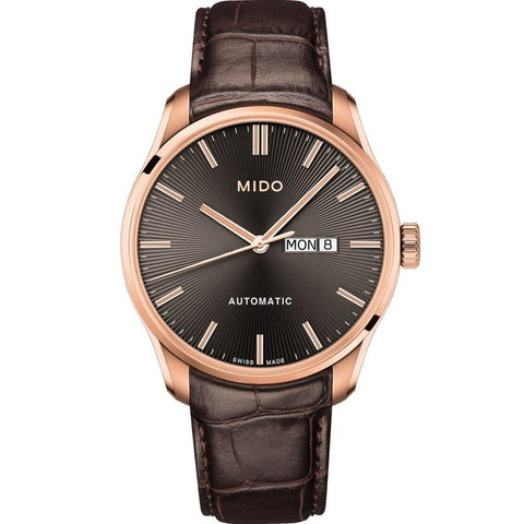 Mido Belluna II Automatic Anthracite Dial Mens Watch M024.630.36.061.00