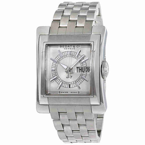 Bedat No. 7 Automatic Silver Dial Mens Watch 797.011.620