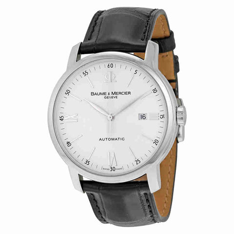 Baume and Mercier Classima Automatic White Dial Mens Watch 08592