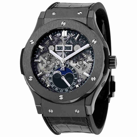 Hublot Classic Fusion Automatic Skeleton Dial Mens Watch 517.CX.0170.LR