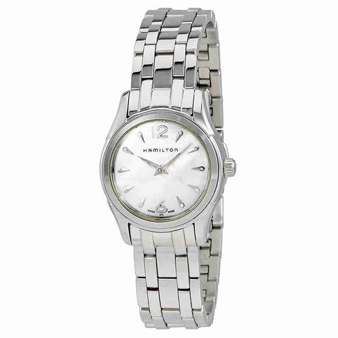 Hamilton JazzMaster Mother of Pearl Dial Ladies Watch H32261197