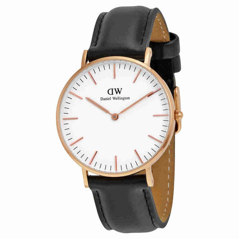 Daniel Wellington Classic Sheffield White Dial Ladies Watch 0508DW