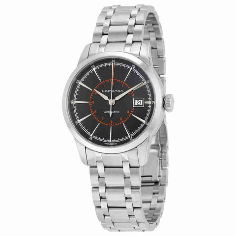 Hamilton Railroad Automatic Black Dial Mens Watch H40555131