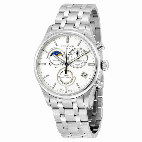 Certina DS- 8 Chrono Moon Phase Mens Quartz Watch C0334501103100