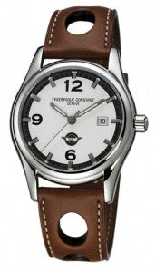 Frederique Constant Automatic White Dial Mens Watch FC-303HSG6B6