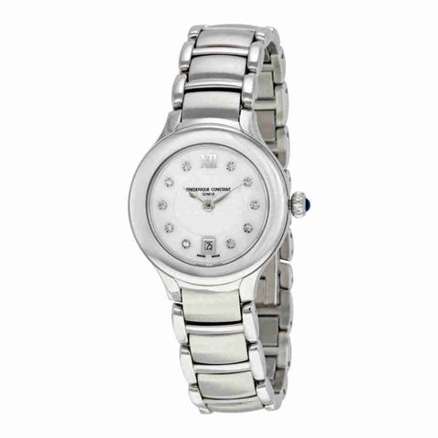 Frederique Constant Delight Quartz Diamond Ladies Watch FC-220WHD2ER6B