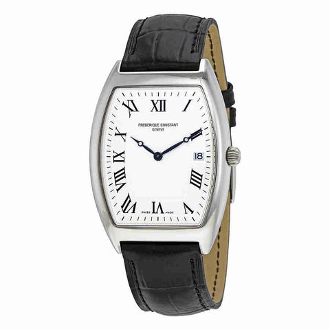 Frederique Constant Art Deco Silver Dial Mens Watch FC-220MC4T26