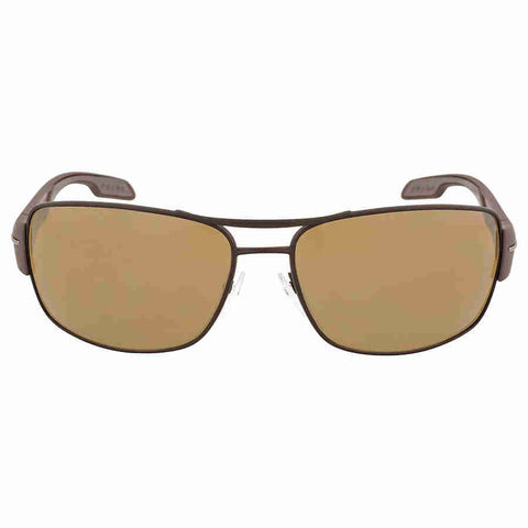 Prada Active Polycarbonate Brown Sunglasses PS 53NS-UEA5Y1-65