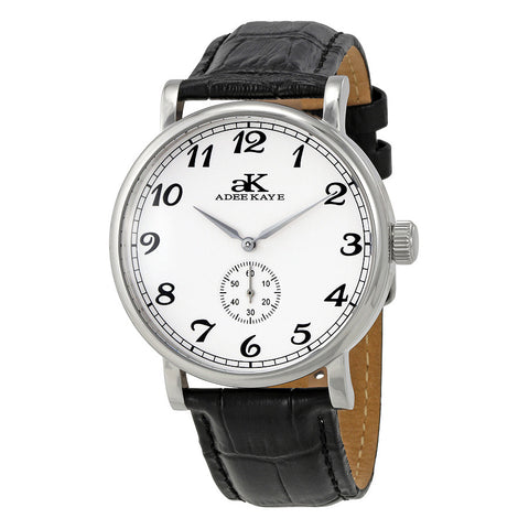 Adee Kaye Vintage Automatic White Dial Mens Watch AK9061-M-SV