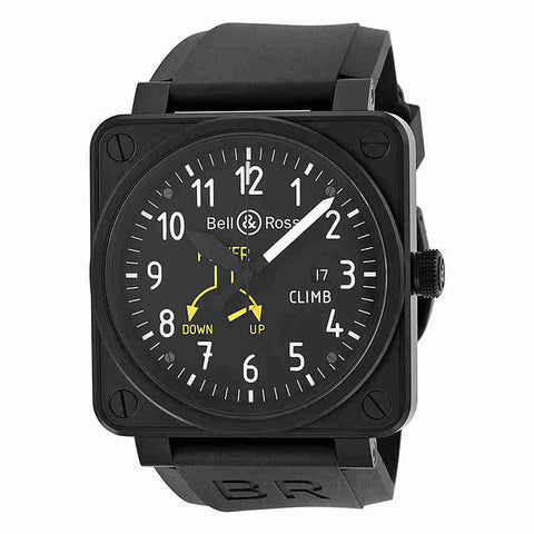 Bell & Ross Flight Intruments Mens Watch BR0197-CLIMB