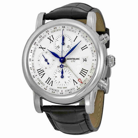 d9ccad45452 Montblanc Star Chronograph UTC Automatic Mens Watch 107113 ...