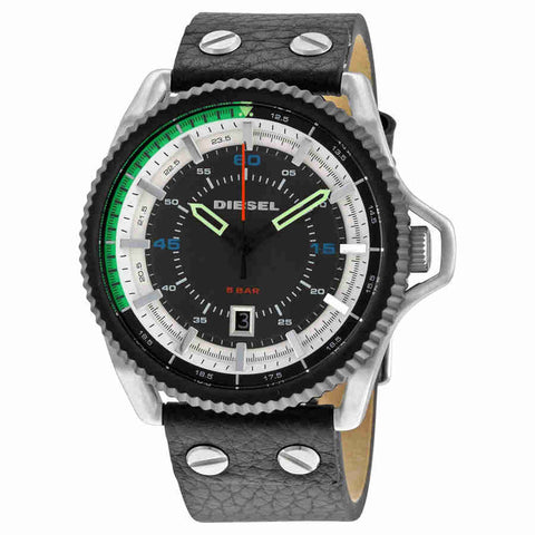 Diesel Rollcage Exposed Grey and White Dial Mens Watch DZ1717