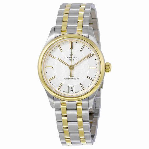Certina DS- 8 Automatic Silver Dial Ladies Watch C0332072203100