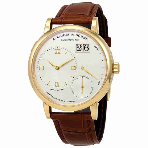 A. Lange and Sohne Grand Lange 1 18K Yellow Gold Mens Watch 117.021