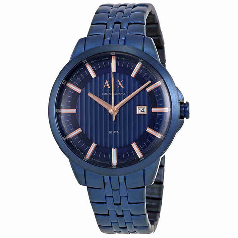 Armani Exchange Blue Dial Mens Watch AX2268