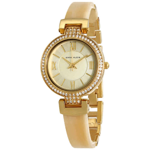 Anne Klein Light Champagne Dial Ladies Watch 2894CHHN