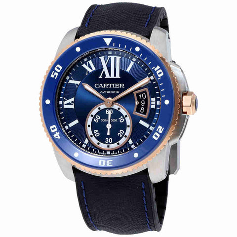 Cartier Calibre De Cartier Diver Automatic Mens Watch W2CA0008