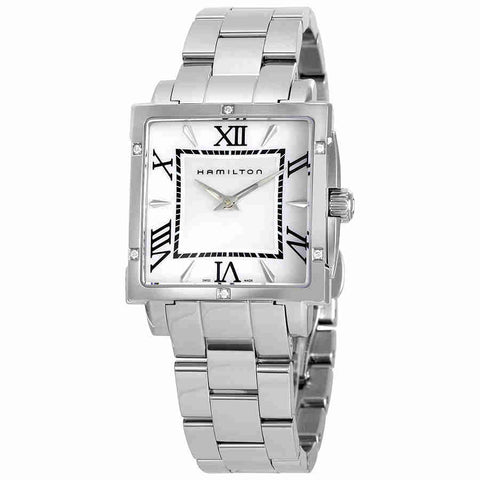 Hamilton American Classics Jazzmaster Square Ladies Watch H32291114