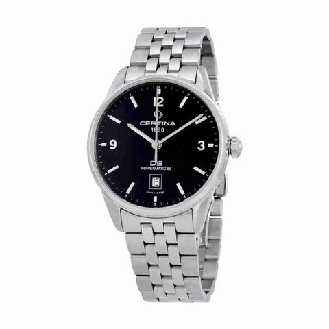Certina DS Powermatic Black Dial Mens Watch C026.407.11.057.00