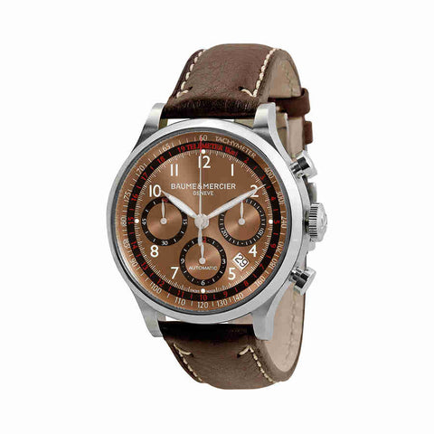 Baume and Mercier Capeland Automatic Chronograph Mens Watch 10002