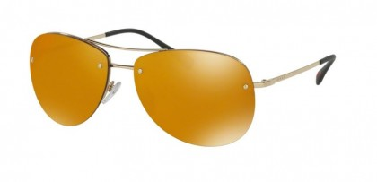 Prada 24k Iridium Aviator Sunglasses