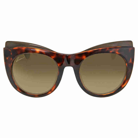 Gucci Cat Eye Havana Ladies Sunglasses GG3781/SLSDHA
