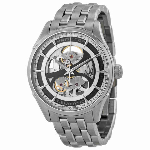 Hamilton Jazzmaster Viewmatic Grey Skeleton Dial Mens Watch H42555151