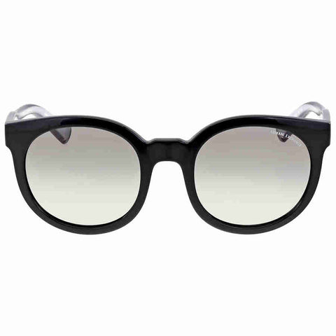 Armani Exchange Grey Gradient Plastic Sunglasses