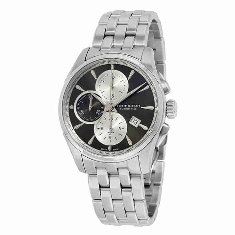 Hamilton Jazzmaster Chronograph Grey Dial Stainless Steel Mens Watch H32596181