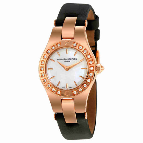 Baume and Mercier Linea Mother of Pearl Dial Ladies Watch 10091