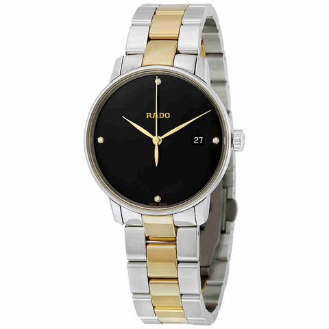 Rado Coupole Black Dial Diamond Mens Watch R22864712