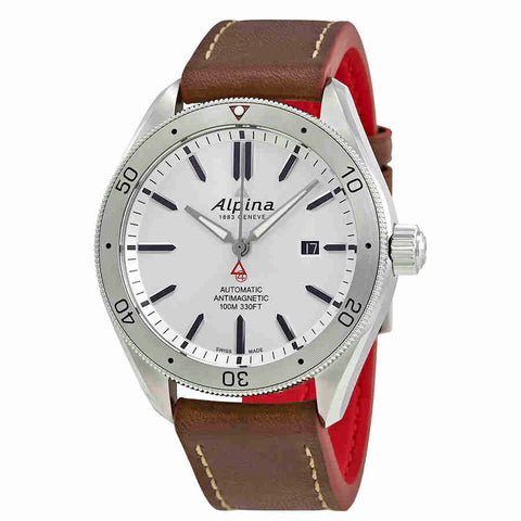 Alpina Alpiner 4 Automatic Silver Dial Mens Watch AL-525SS5AQ6