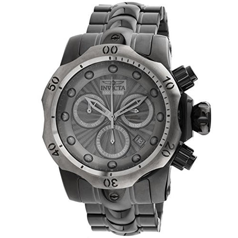 InvictaVenom Gunmetal Chronograph Mens Watch 23899