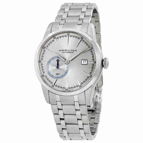 Hamilton Railroad Automatic Silver Grey Dial Mens Watch H40515181