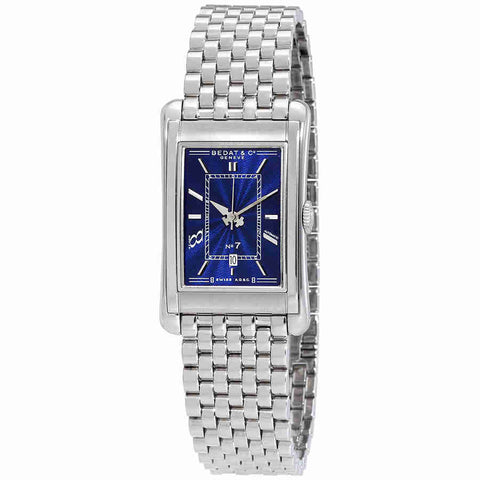 Bedat No. 7 Automatic Blue Dial Stainless Steel Mens Watch 718.011.510