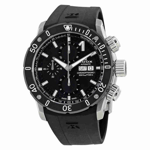 Edox Chronoffshore-1 Automatic Chronograph Mens Watch 01122-3-NIN